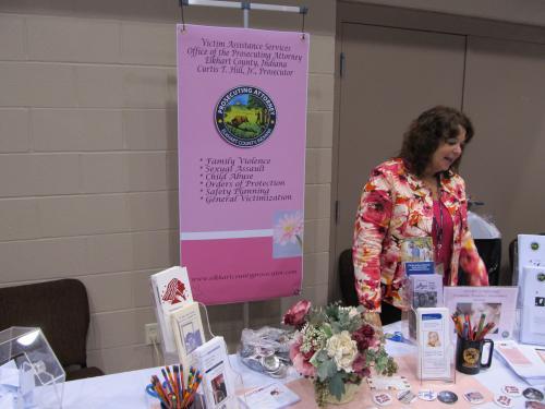 2011 IU Health Women's Expo Exhibit