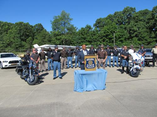2012 Indiana State Police Impaired Driving Press Conference