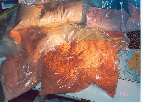 Methamphetamine seized in drug investigation