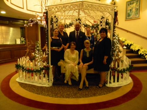 Victim Assistance Staff attends Beyond The Mask Women's Shelter Fundraiser